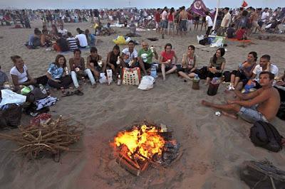 Hogueras de San Juan playa