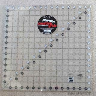 Non slip 15½ Inch x 15½ Inch Square Creative Grids