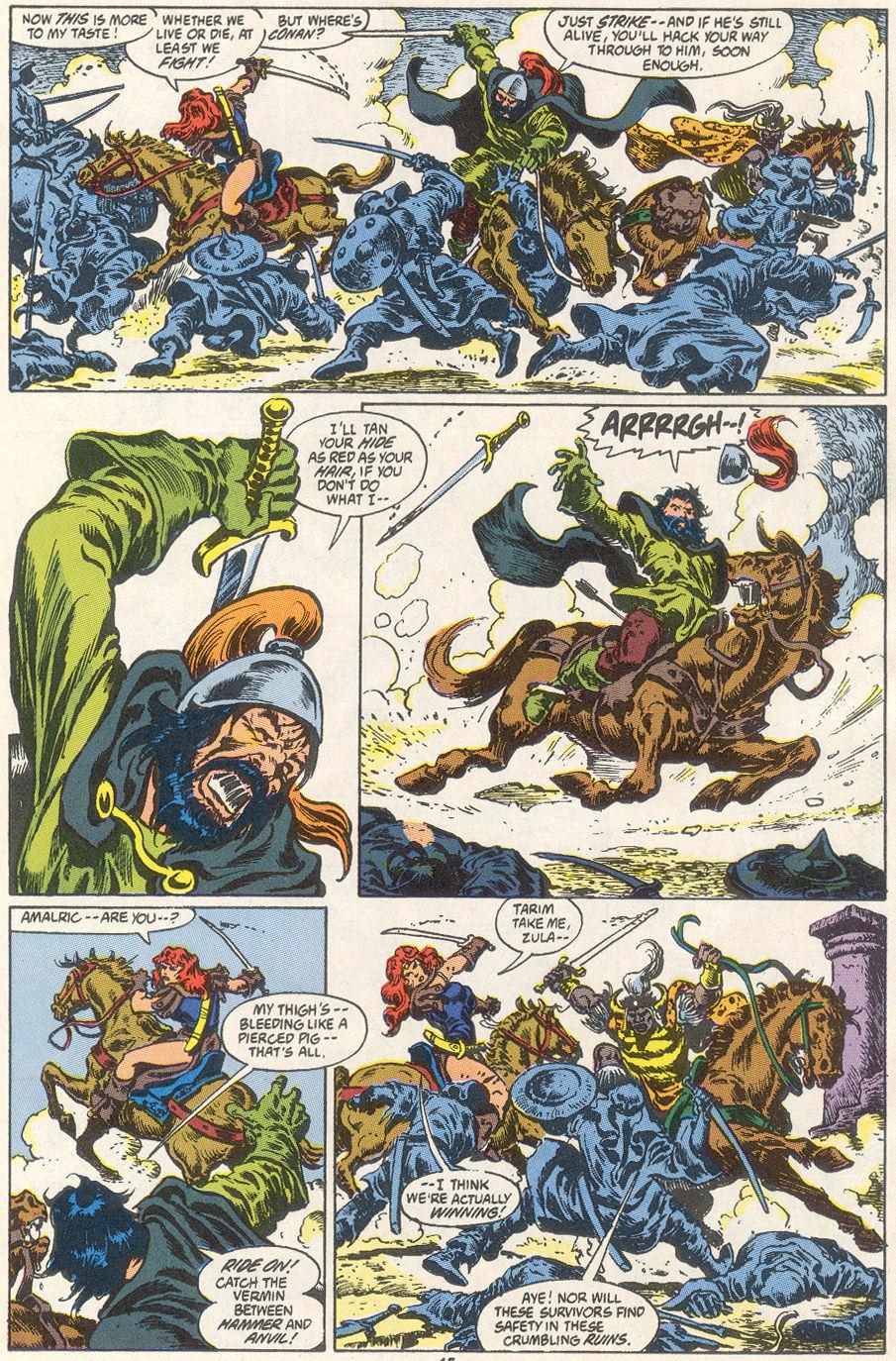 Conan the Barbarian (1970) Issue #249 #261 - English 13