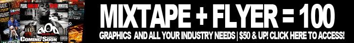 Get Your Mixtape & Flyer Designed Today By VI4V