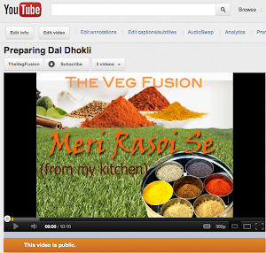 The Veg Fusion YouTube Channel