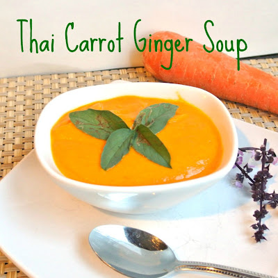 Thai Ginger Carrot Soup