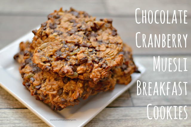 Muesli Breakfast cookies, breakfast cookies, healthy breakfast ideas, What is Muesli, Nature Valley Muesli, Muesli Challenge, Overnight Muesli Recipes, Muesli Recipes,  Chocolate Cranberry Muesli Breakfast Cookies #Recipe