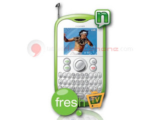 Nexian FreshTV G332 : Ponsel Qwerty TV