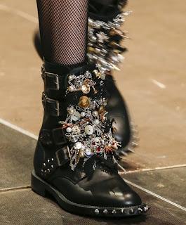 Дизайнерские ботинки Saint Laurent