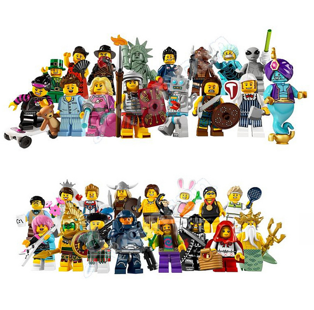 and in other lego news official images of series 6 and series 7 lego