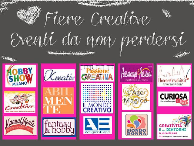 calendario fiere creative e fai da te 2015-2016