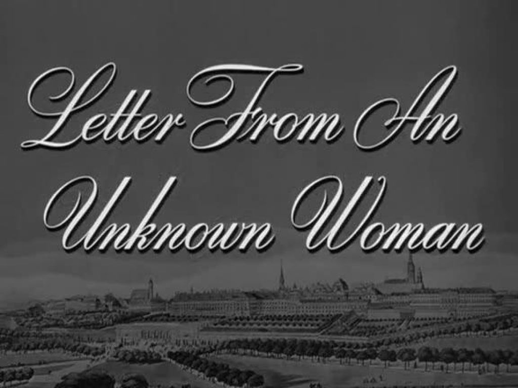 Vagebond's Movie ScreenShots: Letter from an Unknown Woman (1948)
