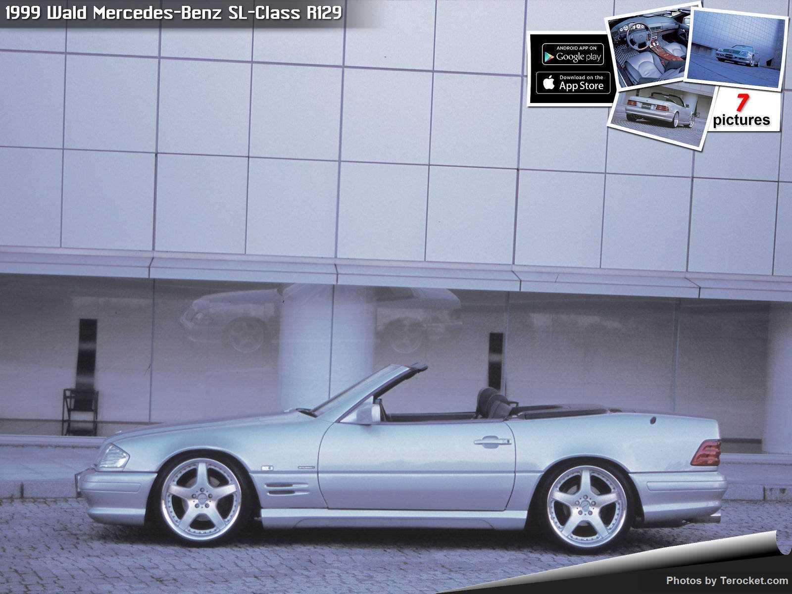 Hình ảnh xe độ Wald Mercedes-Benz SL-Class R129 1999 & nội ngoại thất