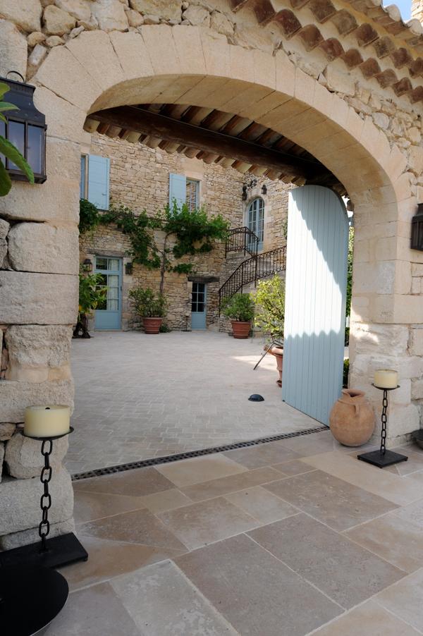 Estilo rustico muros de piedra rusticos - Muros de piedra ...