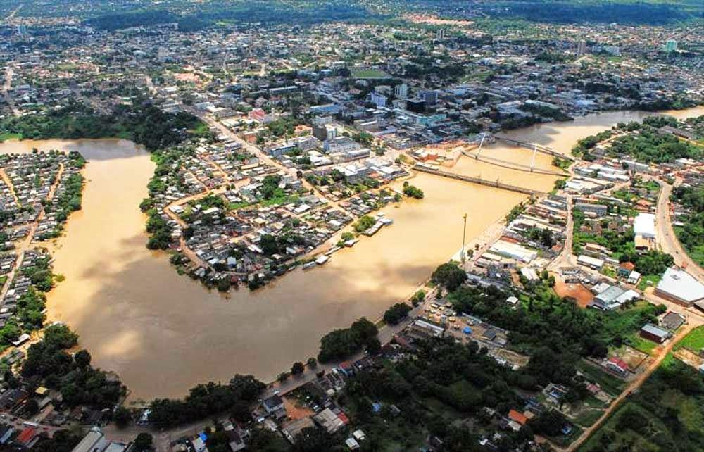 RIO BRANCO, LA CAPITAL DEL ESTADO DE ACRE - BRASIL - Mundo