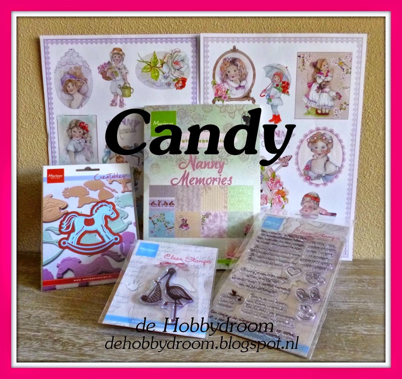 Candy bij de Hobbydroom