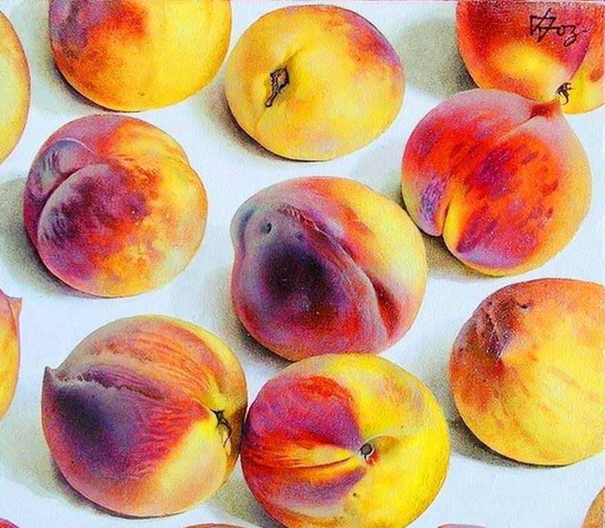 Im&225genes Arte Pinturas Cuadros Bodegones Modernos Con Frutas