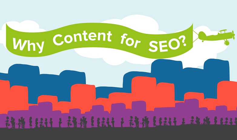 Why Content Marketing Is The Key To Online Success - #infographic #SEO
