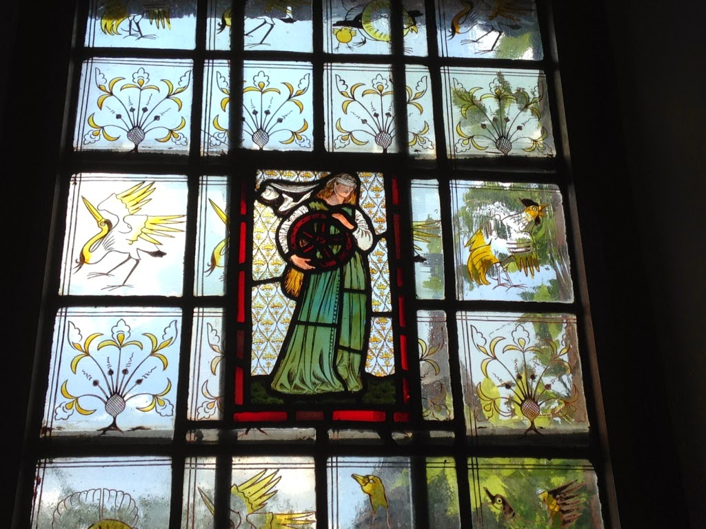 Red House Burne-Jones window