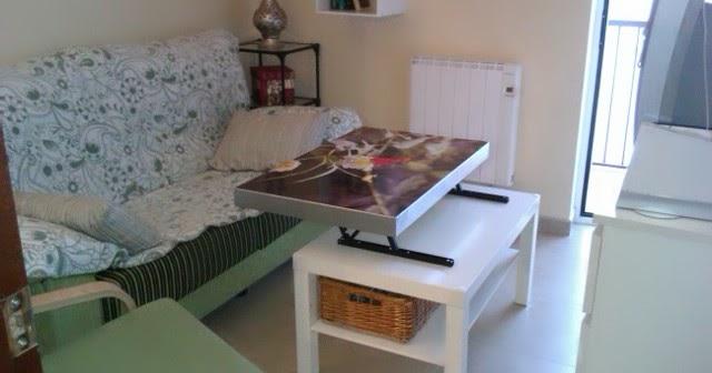 Concurso diy x4duros 39 11 la mesa lack elevable de susana Mesas de salon ikea precios