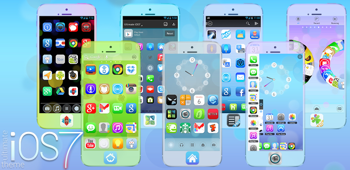 Ultimate iOS7 Launcher Theme v1.81 apk | Free Download ...