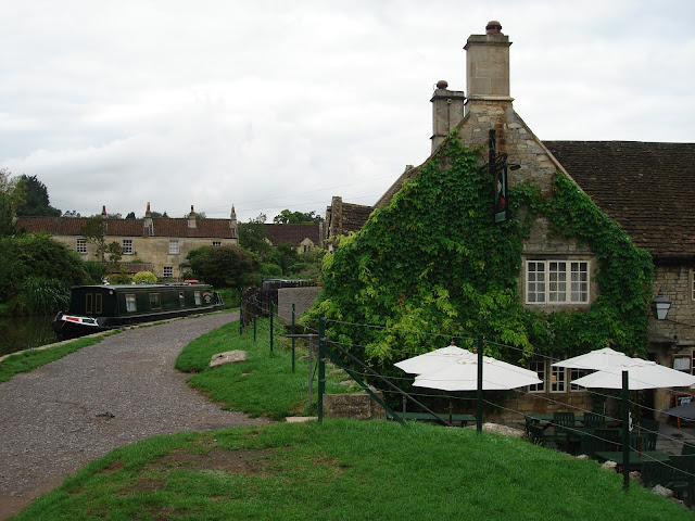George Inn, Bathhampton, Bath, pub, canal