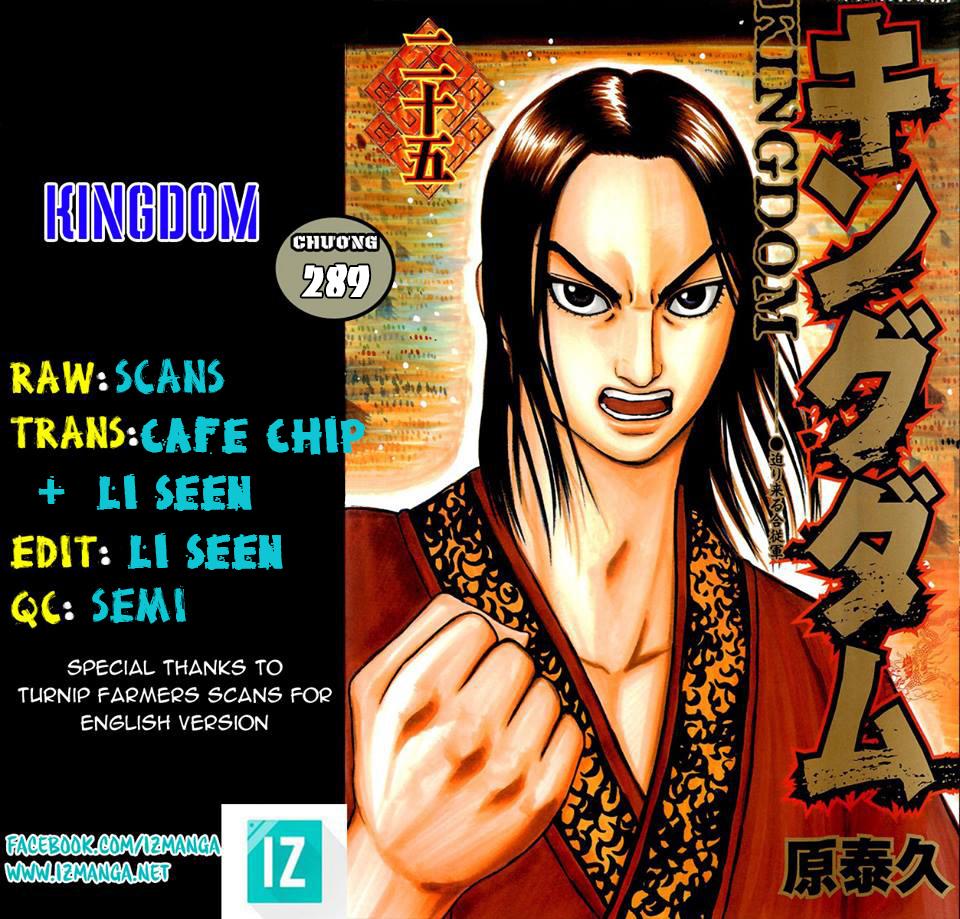 Kingdom - Vương Giả Thiên Hạ Chapter 289 page 2 - IZTruyenTranh.com