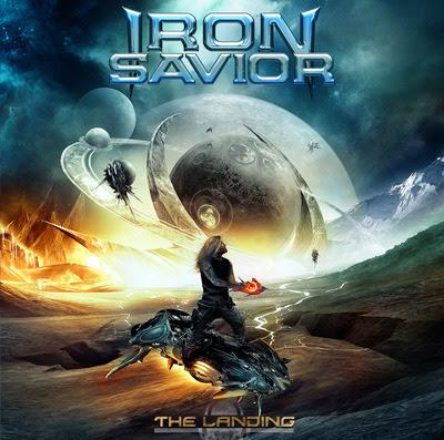 IRON SAVIOR 'The Landing' Nuevo álbum.