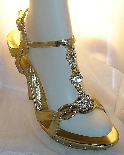 Gold Bridal Shoes Biography Low Heel 2014 UK Wedges Flats Designer Photos Pics Images Wallpapers