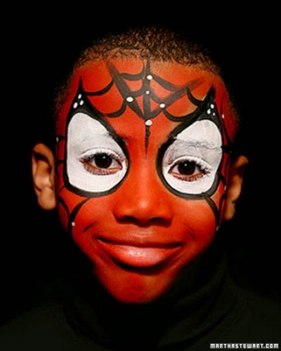 Maquillaje Spiderman