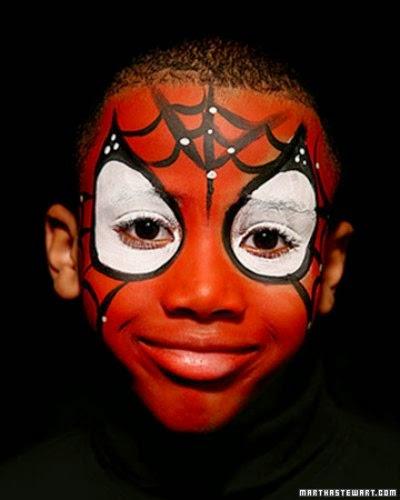 Maquillaje Spiderman