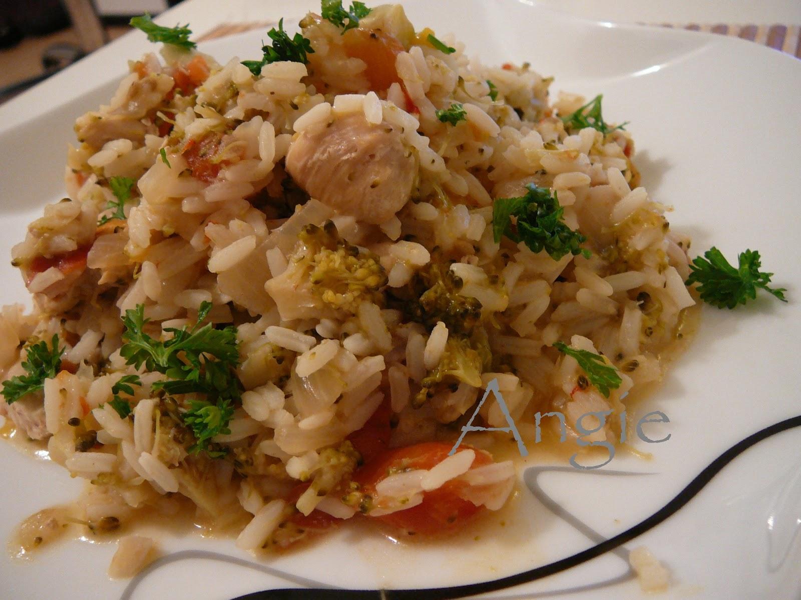 La bonne cuisine de angie orez cu pui si legume for La bonne cuisine