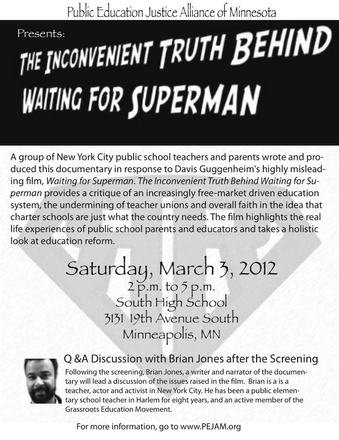 waiting for superman response essay