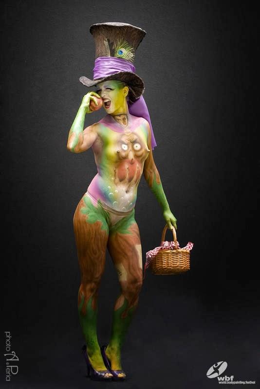 Kumpulan Foto Body Painting 16