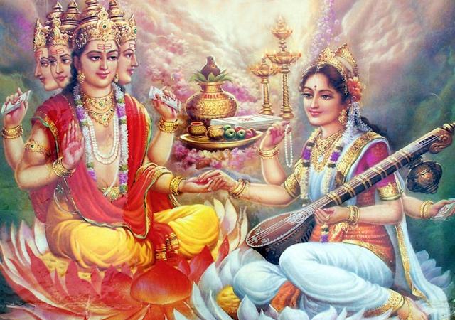 Savitri's Curse to Lord Brahma