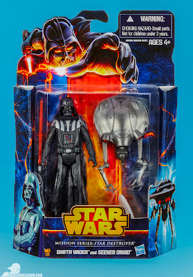 Hasbro Star Wars Mission Series: Star Destroyer - Darth Vader & Seeker Droid Figures