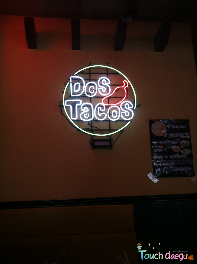 Dos Taco's, Mexican restaurant in Daegu