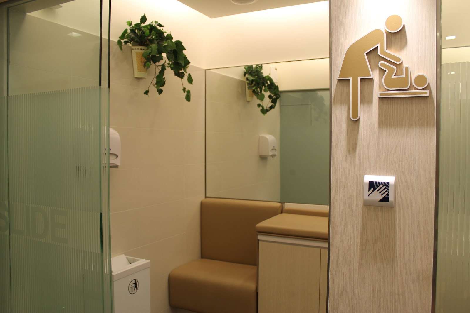 Singaporean in changing room