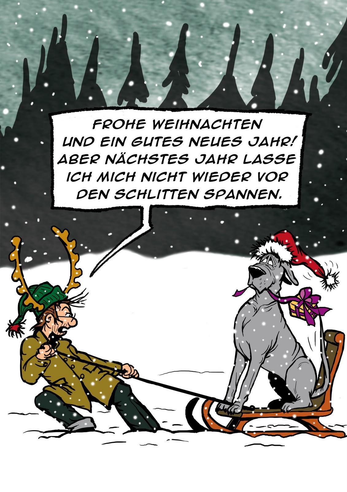 Dogtaris Cartoons: Dogtaris Weihnachtsgeschenke