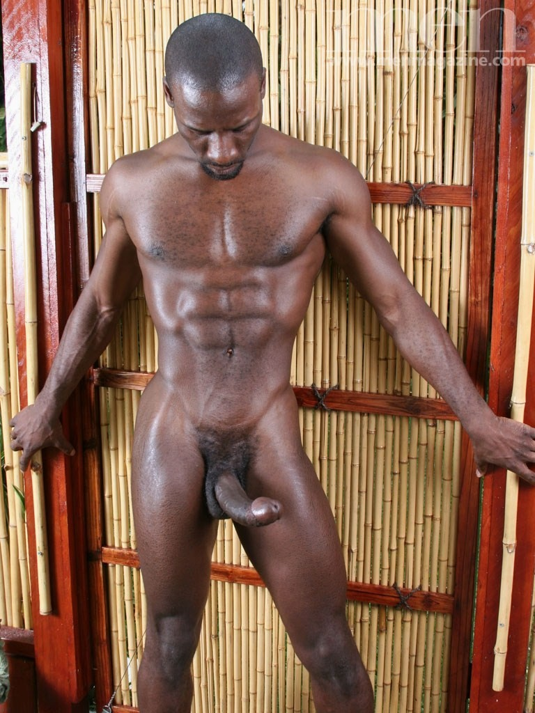 from Jeremiah sexy african men with big black dick and abs