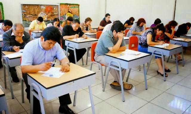 Ucayali noticias 129 mil maestras y maestros participan for Concurso para maestros
