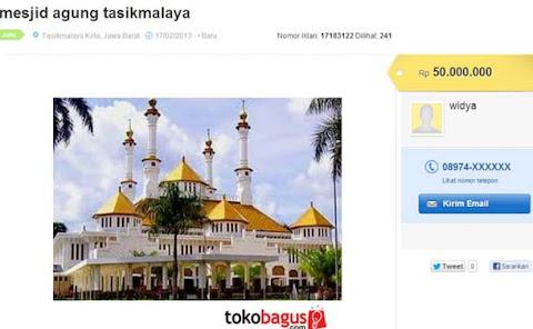 Iklan Jual Mesjid Agung Tasikmalaya di tokobagus.com