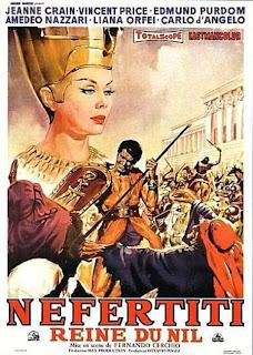 Nefertiti, Reina del Nilo (1961) | Caratula | cine clásico