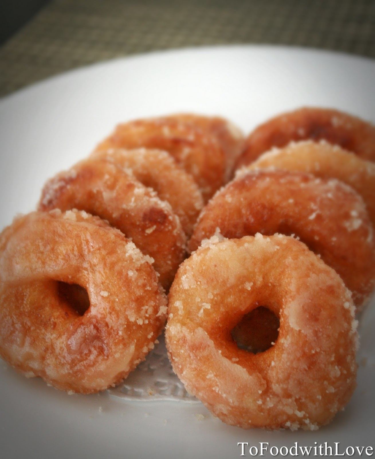 To Food with Love: Kuih Keria (Sweet Potato Donuts)