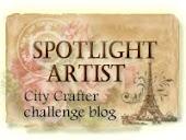 Я в семёрке лучших художников блога City Crafter Challenge Blog