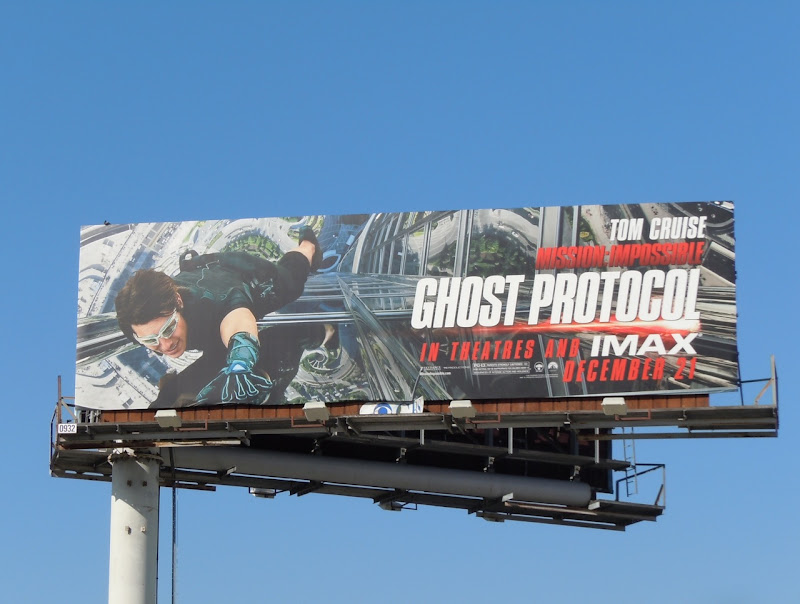 Mission Impossible 4 movie billboard