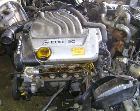 двигатель на Опель Вектра В (бензин)