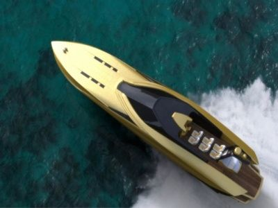 A sporty and luxurious yacht to cross the sea