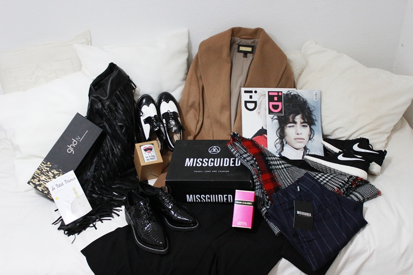 SUPER HAUL: MISSGUIDED, OASAP, MANGO, BERSHKA, NIKE ROSHE RUN, I-D MAGAZINE, PRADA CANDY, GHD, MR WONDERFUL, NIVEA Q10