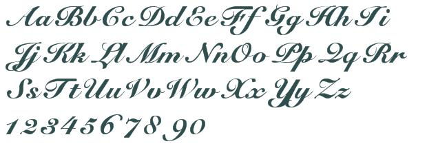 Elegant Handwriting Font