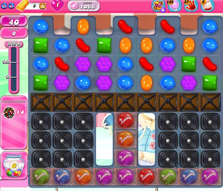 Candy Crush Saga 1066