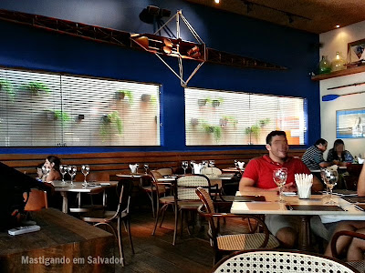 Pereira Restaurante: Ambiente interno da unidade do Itaigara