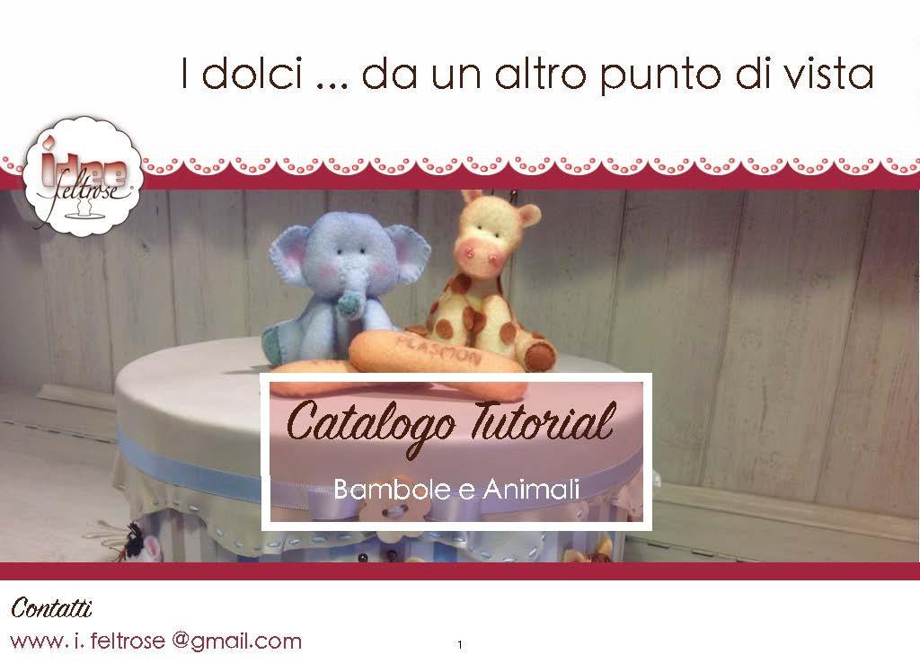 catalogo bambole e animali