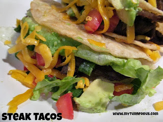 Steak Tacos from My Turn (for us)